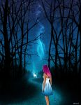 Night in the forest by AnnHimchak