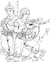 Ratling Snipers by Koshindou