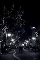 Christmas Lights. by blindsapphire