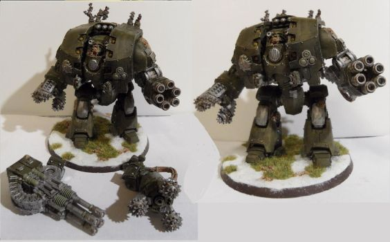 Leviathan Dreadnought of Nurgle by Dible