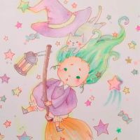 Little witch by berryfranny