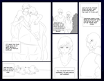 Auroris Round 3: Belly of the Beast - Pg 1 [lined] by LisaLoohoo