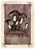 Spooky Toadstools by pebblepixie