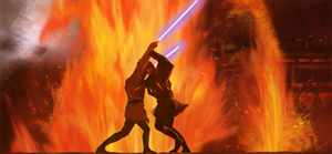 Duel on Mustafar by InnoYou