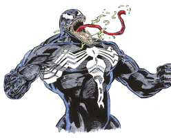 Ink Watercolor Venom 2 by UDRedBlaze