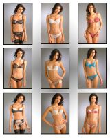 Lingerie Combo Poster by marquitos