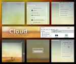 Cloud - Cinnamon Theme by DzaDze