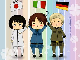 [APH] Axis Powers by EnbiNguyen