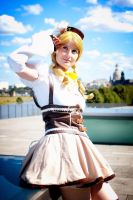 Mami Tomoe - Enjoying peace by Shizuku-Seijaku