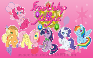 Friendship is Magic by Assechan