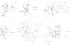 Nightmare Ponies Concept! by twinkleheart12