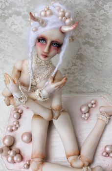 Annabel, ball jointed doll by cliodnafae27