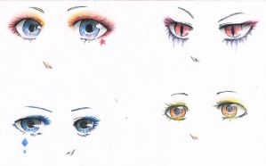 Eyes practise by AnnRosalyn