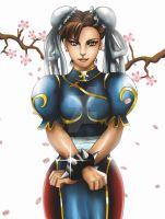 Chun-Li by ExoroDesigns