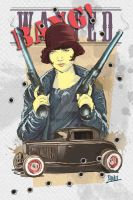 MOST WANTED - retro poster by jade-starck