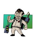 Peter Venkman Pro Ghostbuster by anthonymarques