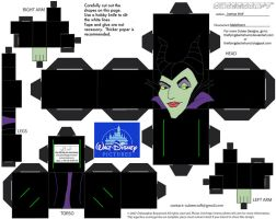 Dis16: Maleficent Cubee by TheFlyingDachshund