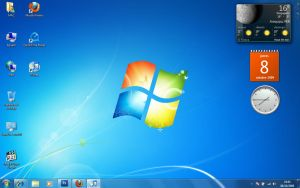 Windows 7 Desk by rubina119