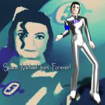 Space Michael Lives Forever by analage