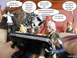 Figures Play Dissidia Final fantasy by Miss-Sweetlivvy