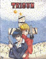 Trigun In So Many Dots by OtakuEC