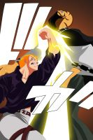 Fairy Tail 320 - Laxus Vs Jura by Advance996