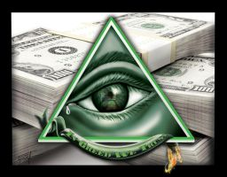In Greed We Trust by TH3ARTD3PT