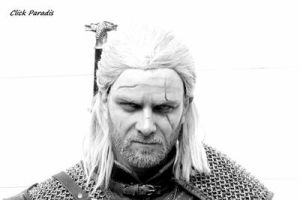 Geralt of rivia / Geralt de riv  by Zephon-cos
