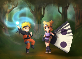 M CM:Naruto and Temari by xXUnicornXx
