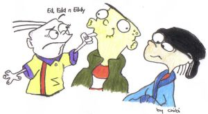 ::REQUEST:: Ed, Edd n' Eddy by Zell-Dincht