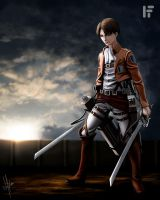 Levi Digital Drawing by fednan