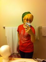 My first cosplay wig! (link) by KH-LoZ-er
