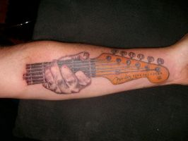 stratocaster by Xagamus