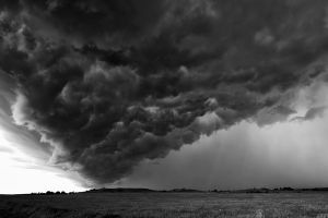 Storm Over the Kansas Plains by neuro-riviera