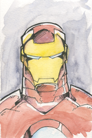 Tony Stark by kevinbriones