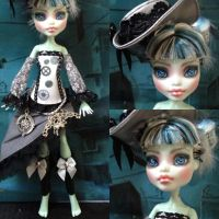 Pepper - Monster high repaint custom by Sonkisonki