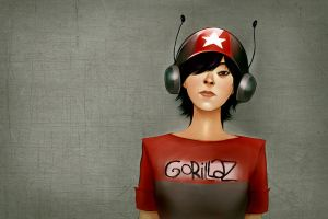 Gorillaz - Noodle by andrahilde