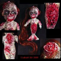 Rot Tot Rotting Mermaid zombie by Undead-Art