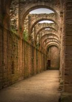 Abbey Arches by SkankinMike