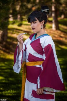 Kagura - InuYasha cosplay by StephBot Cosplay by St3phBot