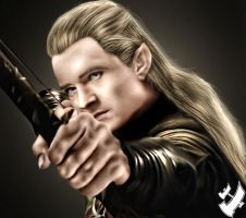 Legolas Greenleaf by raj475