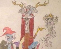 Dark magic, Chaos, and Cruelty by xenomorphScar4