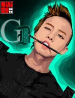 Big Bang - G. DRAGON by maddaluther