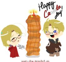 Hetalia: Happy Canada Day by paper-sting