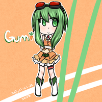 Gumi doodle by ooglycheez