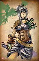 LOL - Riven by TyrineCarver