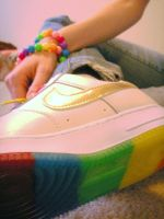 Rainbow Shoe Pwnage by Ellidegg