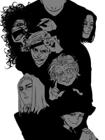 Death Eaters by satorudb