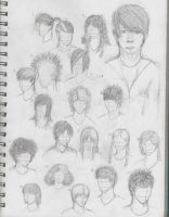 Hair sketches by speir-theas