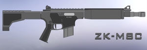 Zk M8 Carbine MK II by ZiWeS